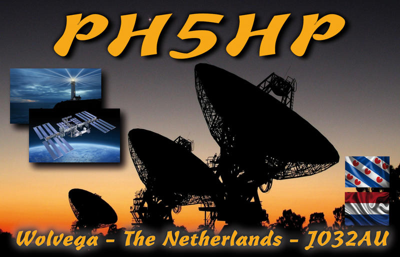 Frontside QSL-card