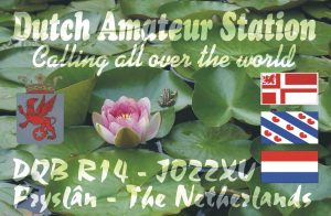 Old QSL-card